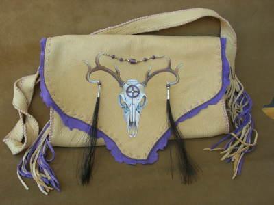 Deer Skull Bag