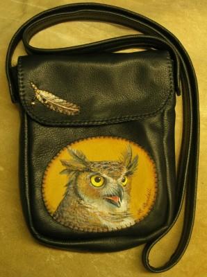 Great Horned Owl Bag