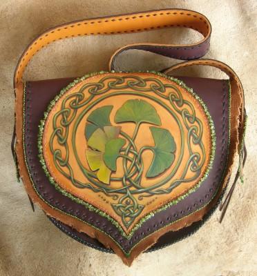 Celtic Ginkgo Bag