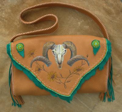 Ram Skull Bag