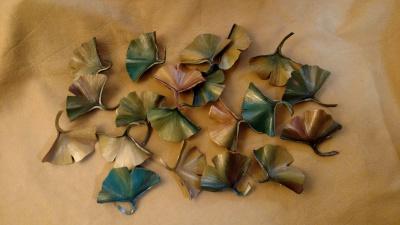 Ginkgo Leaf Pins