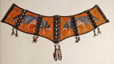 Wolf Corset Belt