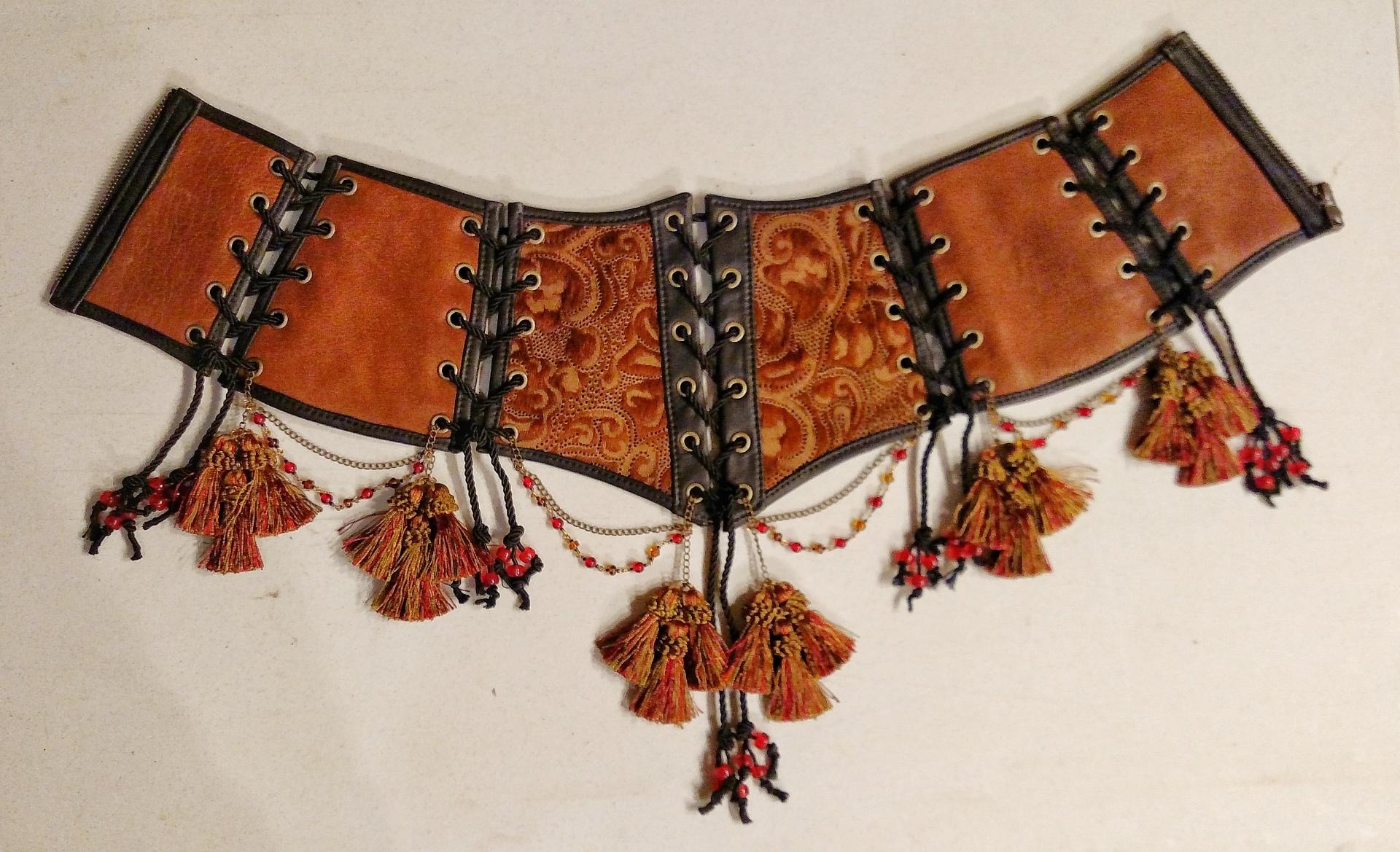 Tassel Corset Belt