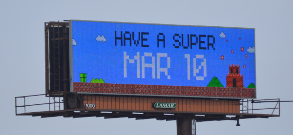 March 10 is Super Mar10 Day