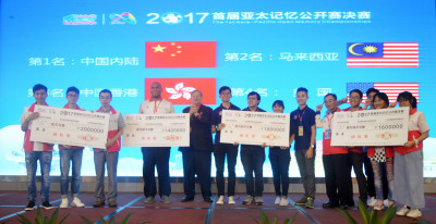 Asia Pacific Open Memory Champonships 2017