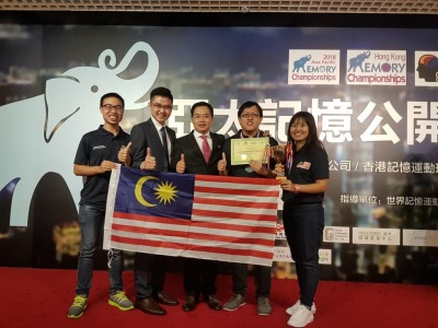 Malaysia Team Won The 2nd Place in Asia Pacific Memory Championships 2018
