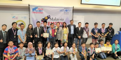 The 3rd Malaysia Memory Championships cum The 27th World Memory Championships Qualifying Round  2018