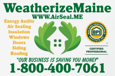 WeatherizeMaine Home Performance & Insulation