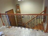 stair way railings, stairway railings, staircase remodel