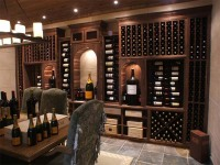 Custom Design, construction wine cabinet rack, lighting, wood, refrigeration, cooler, wine accessories, cabinetry, wine storage, wine display