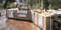 Outdoor living, outdoor kitchens and barbecue renovations, custom design services