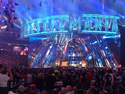 The spectacle that is WrestleMania