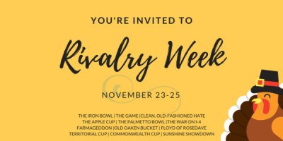 Rivalry Weekend