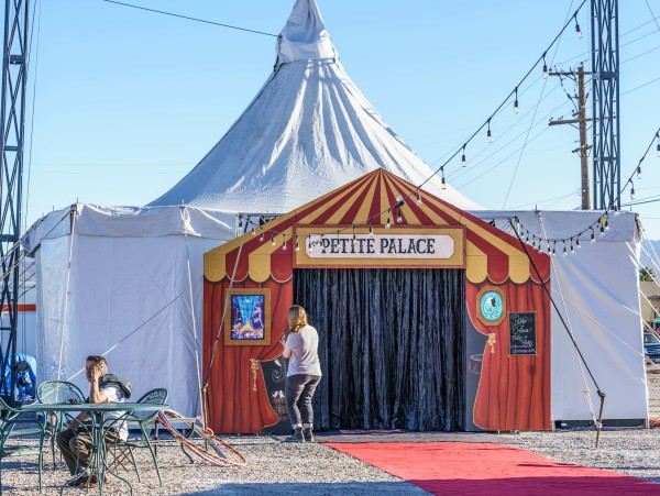 The Petite Palace - An intimate traveling performance venue