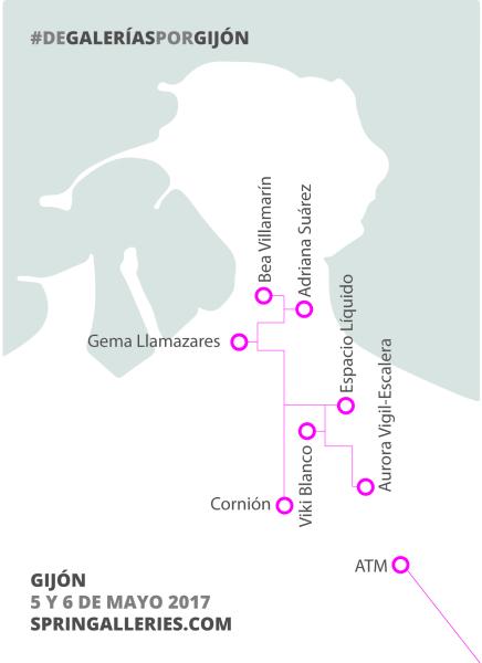 De galerías por Gijón