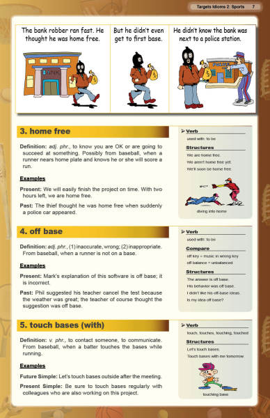 Targets in English Idioms 50 2 Sports Hit a Home Run