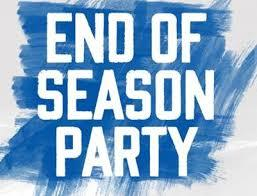 End of Season Party - October