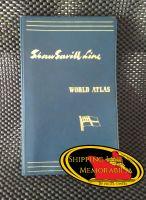 Shaw Savill Line  120 page World Atlas 1961 - Very rare