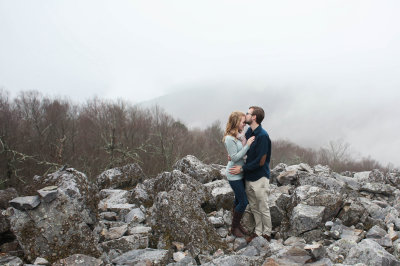 Emily and Cameron on Blackrock Summit