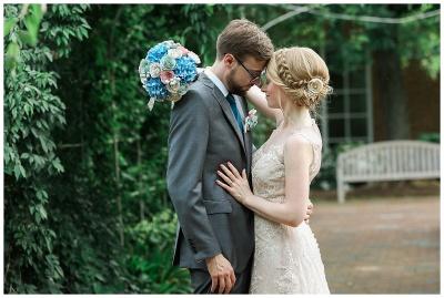 Emily and Cameron's Lewis Ginter Botanical Garden Wedding