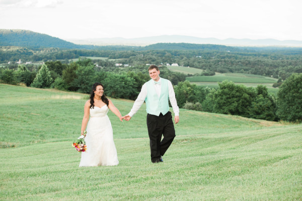 Kelsey and Chris - Colorful Grace Estate Wedding