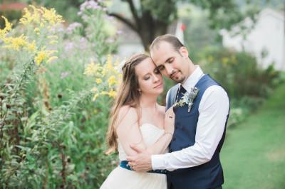 Laurel and Max - James Monroe's Highland Wedding