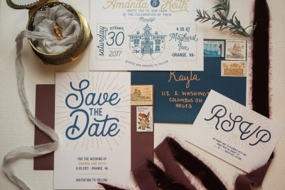 Rainy Saturdays are for Styling! - Invitation Suite by Kayla Bonzo