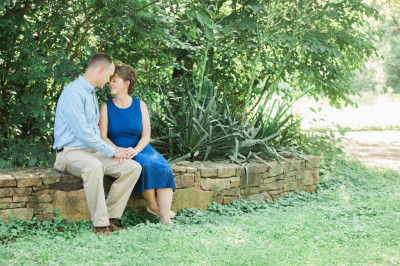 Ivy Creek Engagement Session - Melanie and Mike