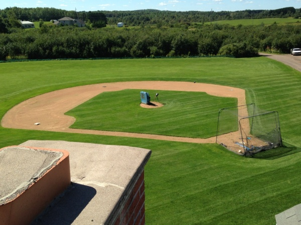 Scott Pionk Landscaping  baseball field from scratch