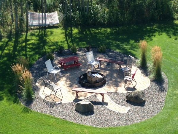 Scott Pionk Landscaping   new fire pit