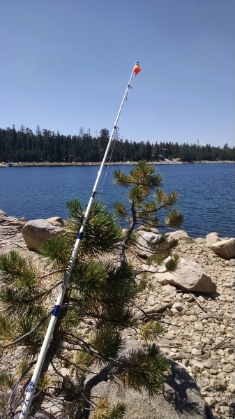 fishing on Loon Lake