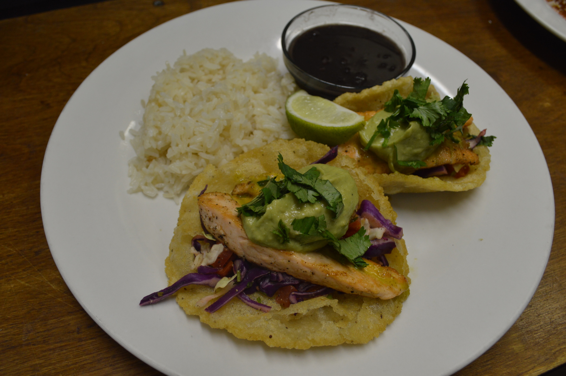 Puffy Fish Tacos