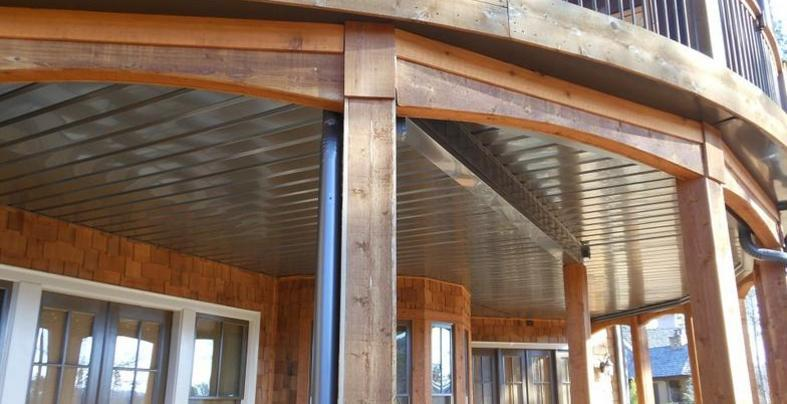 Under Deck Ceiling Systems Charleston And Greenville