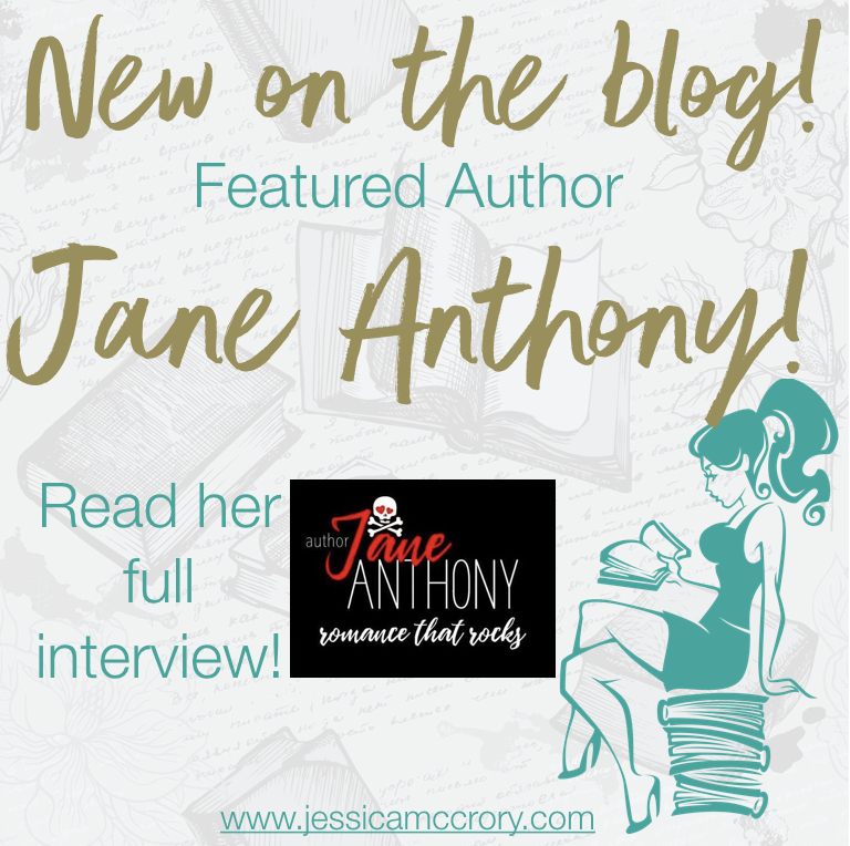 Featured author of the week Jane Anthony!!