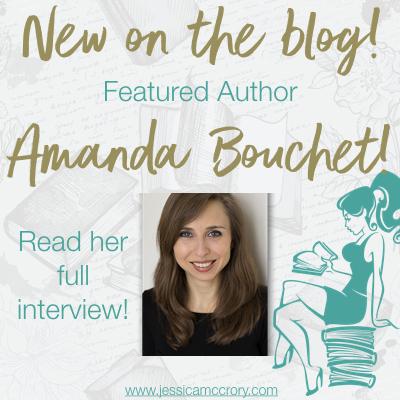 Featured author of the week Amanda Bouchet!!