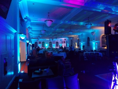 Uplighting for Wedding in Nova Scotia, Halifax