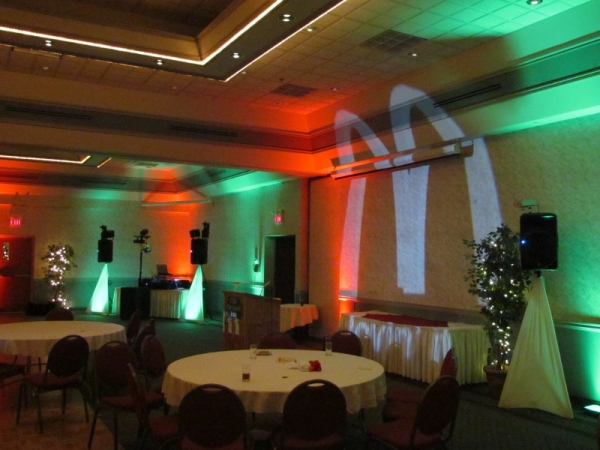 Corporate Events using LED Custom Image Projector in Halifax, Nova Scotia