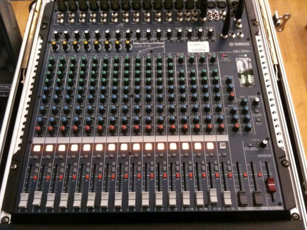 16 Channel Sound Board for Talent Show