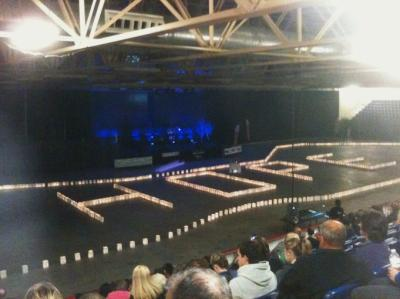 """Showing support and giving """"HOPE"""" - Relay for Life"""