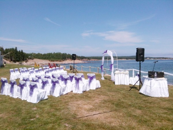 Ceremony by the Bay in Cape Breton
