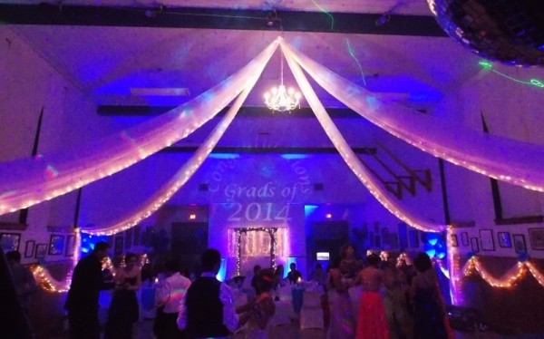 LED Lighting for your Prom in Nova Scotia