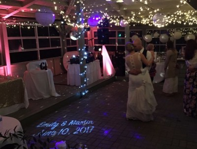 1st Waltz with Uplighting & LED Monogram