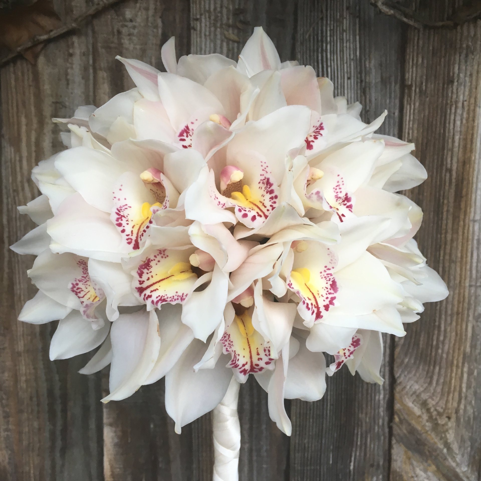 Cymbidium Orchid Bridal Bouquet