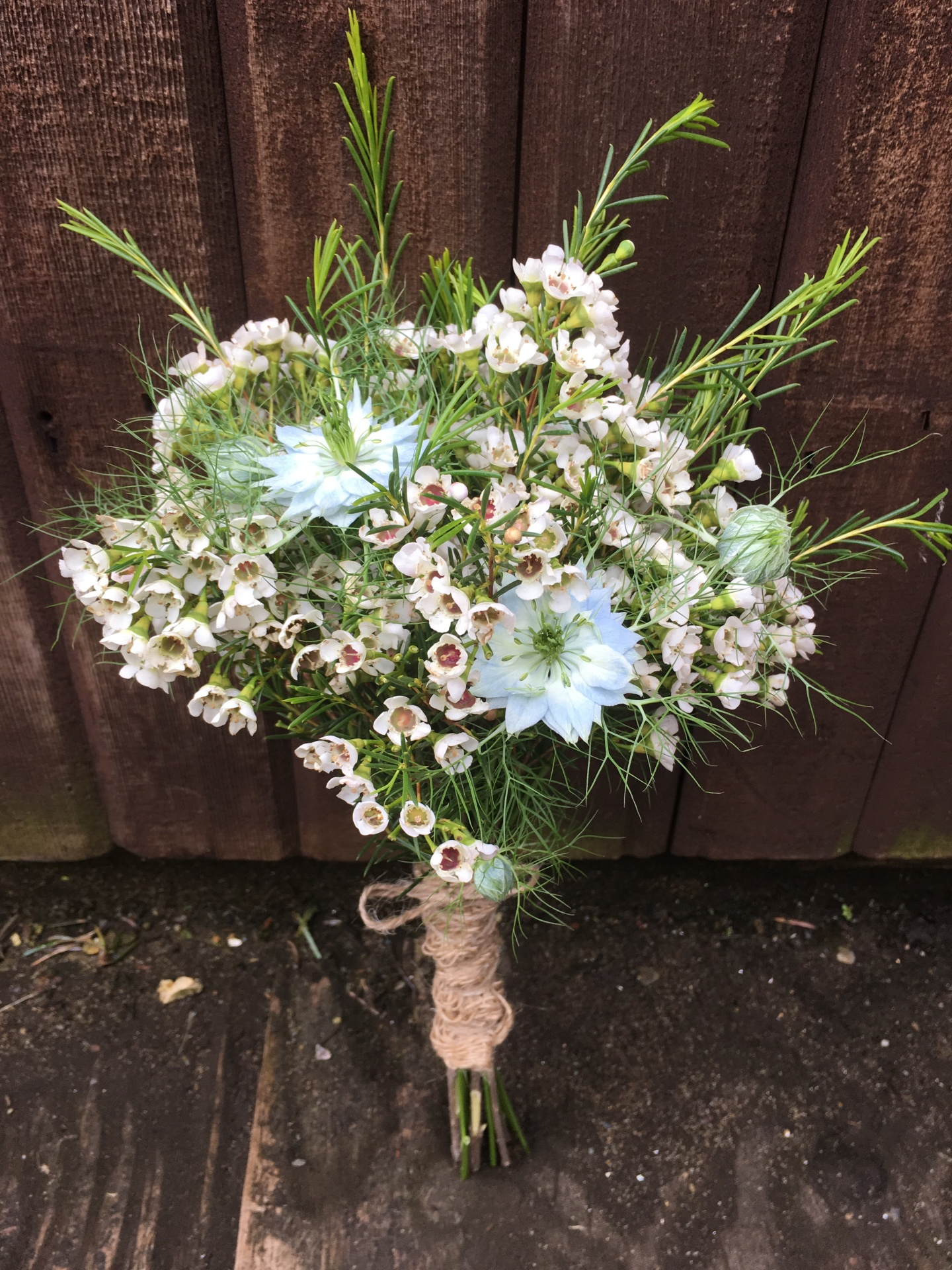 Cottage Garden Bridesmaid Posy