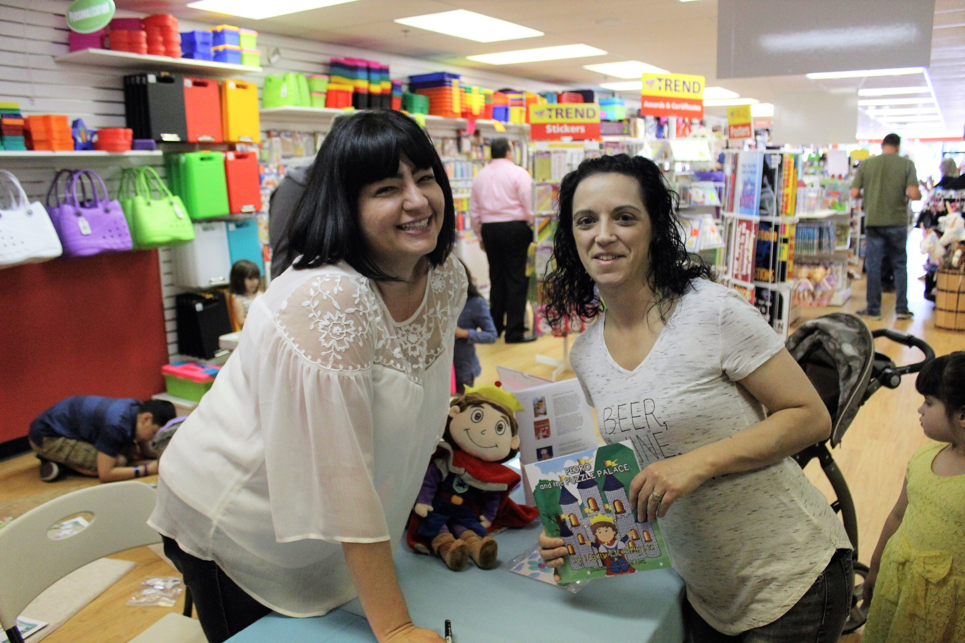 Pedro and the Puzzle Palace Book Launch Party