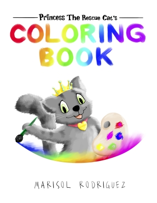 Princess the Rescue Cat, Coloring Book