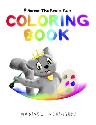 Princess the Rescue Cat, Coloring Book