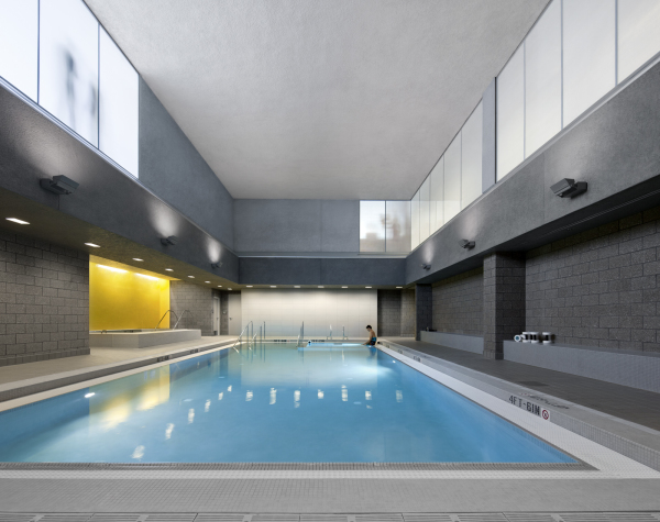 UCD Health & Wellness Pool area