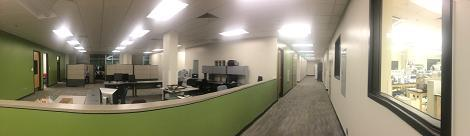 Interior tenant space in Bioscience