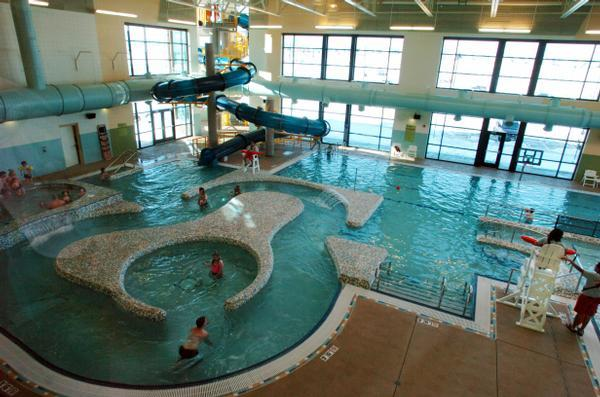 Erie Rec Center pool - High performance coatings